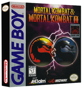 Mortal Kombat & Mortal Kombat II - Box - 3D