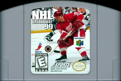 NHL Breakaway 99 - Cart - Front