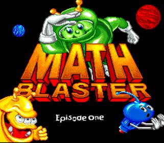 Math Blaster: Episode 1 - Screenshot - Game Title