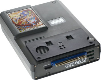 Quiz & Dragons: Capcom Quiz Game - Fanart - Cart - Front