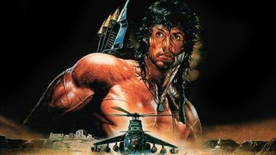 Rambo III - Fanart - Background