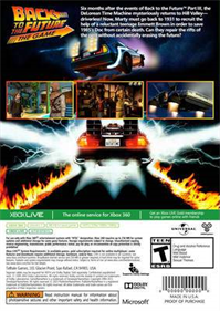 Back to the Future The Game: 30th Anniversary Edition - Box - Back