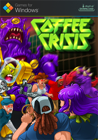 Coffee Crisis - Fanart - Box - Front