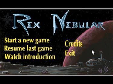 Rex Nebular and the Cosmic Gender Bender - Screenshot - Game Title