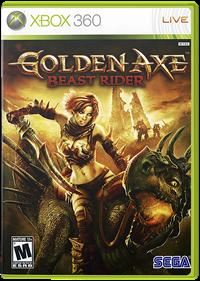 Golden Axe: Beast Rider - Box - Front - Reconstructed