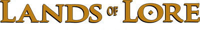 Lands of Lore: The Throne of Chaos - Clear Logo