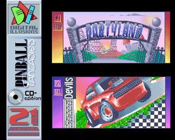Pinball Fantasies - Screenshot - Game Select
