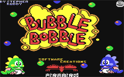 Bubble Bobble - Screenshot - Game Title