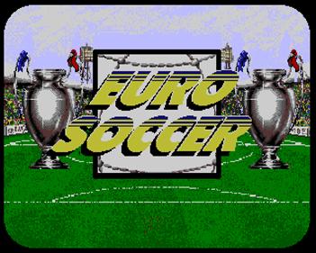 Euro Soccer - Screenshot - Game Title
