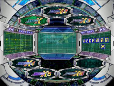 Mega Man X Collection - Screenshot - Game Select
