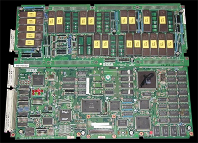Indy 500 - Arcade - Circuit Board