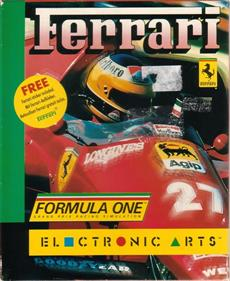 Ferrari Formula One - Box - Front