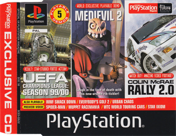 Official UK PlayStation Magazine: Demo Disc 58