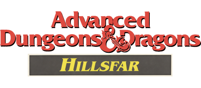 Advanced Dungeons & Dragons: Hillsfar - Clear Logo