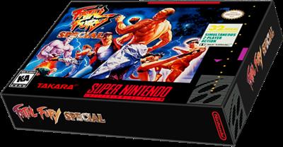Fatal Fury Special - Box - 3D