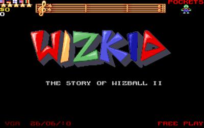 Wizkid: The Story of Wizball II - Screenshot - Game Title