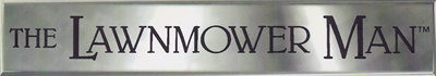The Lawnmower Man - Clear Logo