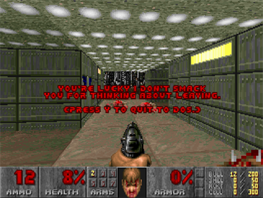 DOOM II - Screenshot - Game Over