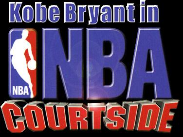 Kobe Bryant in NBA Courtside - Clear Logo