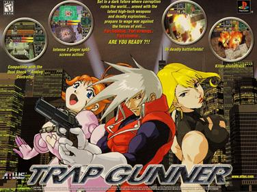 Trap Gunner: Countdown to Oblivion - Advertisement Flyer - Front