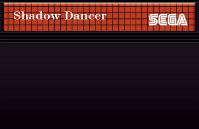 Shadow Dancer: The Secret of Shinobi - Cart - Front