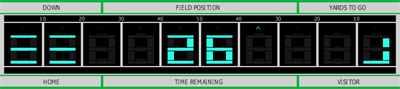 Electronic Football - Screenshot - Gameplay