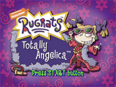 Rugrats: Totally Angelica - Screenshot - Game Title