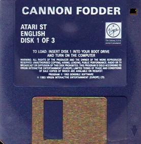 Cannon Fodder - Disc