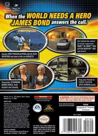 007: Agent Under Fire - Box - Back