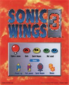 Aero Fighters 3 - Arcade - Controls Information