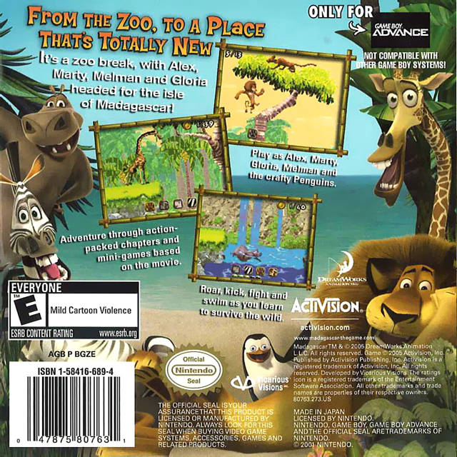 Madagascar Details LaunchBox Games Database
