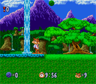 Bubsy in: Claws Encounters of the Furred Kind - Screenshot - Gameplay