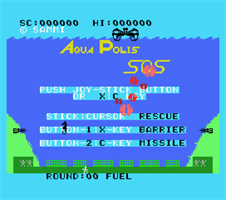 AquaPolis SOS - Screenshot - Game Select