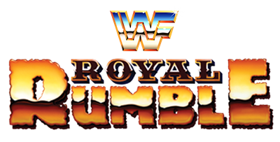 WWF Royal Rumble - Clear Logo