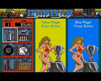 "Ivan ""Ironman"" Stewart's Super Off Road - Screenshot - Game Select"