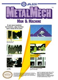 Metal Mech: Man & Machine - Box - Back